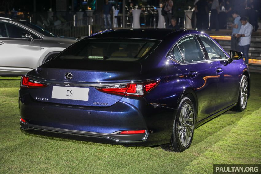 New Lexus ES 250 launched in Malaysia, from RM300k Image #1012813