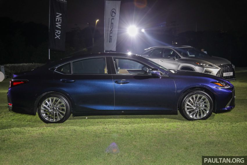 New Lexus ES 250 launched in Malaysia, from RM300k Image #1012815