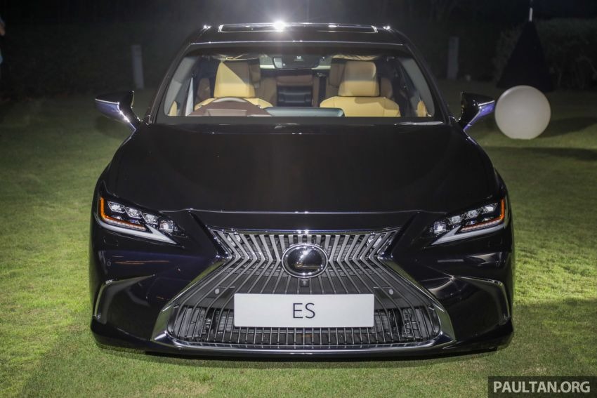 New Lexus ES 250 launched in Malaysia, from RM300k Image #1012817