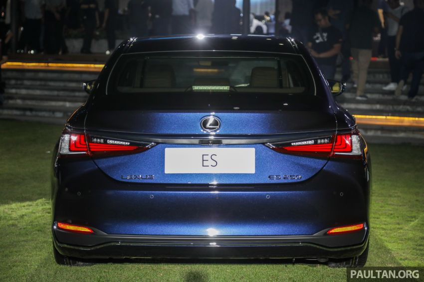 New Lexus ES 250 launched in Malaysia, from RM300k Image #1012819