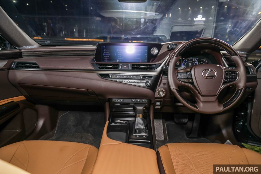 New Lexus ES 250 launched in Malaysia, from RM300k Image #1012821