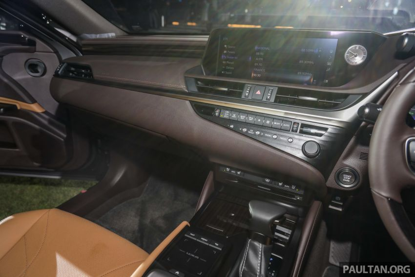 New Lexus ES 250 launched in Malaysia, from RM300k Image #1012826