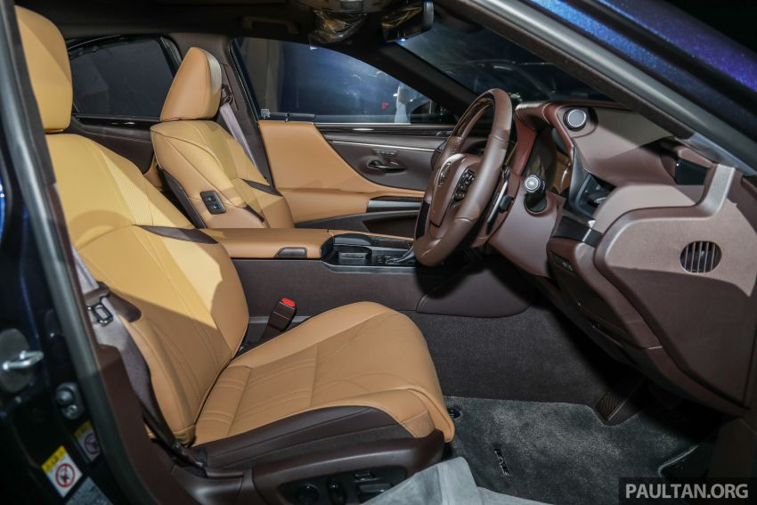 New Lexus ES 250 launched in Malaysia, from RM300k Image #1012828