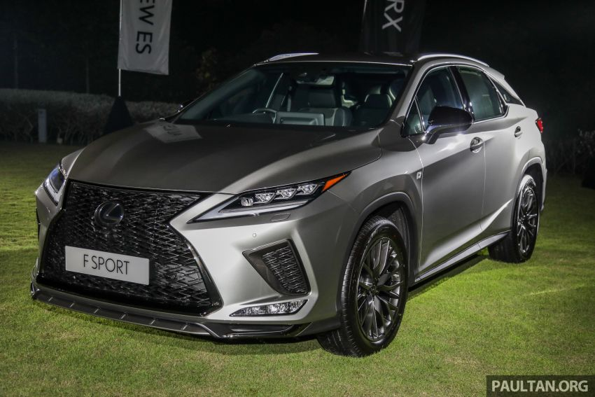 2019 Lexus RX facelift launched in Malaysia – three 2.0L turbo variants offered; priced from RM399,888 Image #1012812