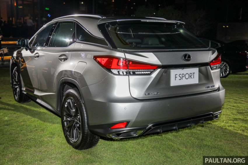 2019 Lexus RX facelift launched in Malaysia – three 2.0L turbo variants offered; priced from RM399,888 Image #1012814