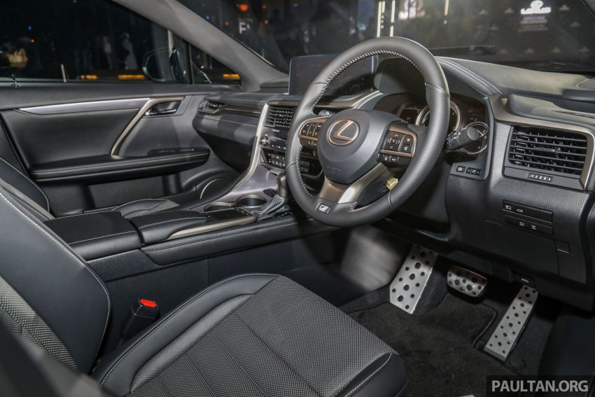 2019 Lexus RX facelift launched in Malaysia – three 2.0L turbo variants offered; priced from RM399,888 Image #1012823