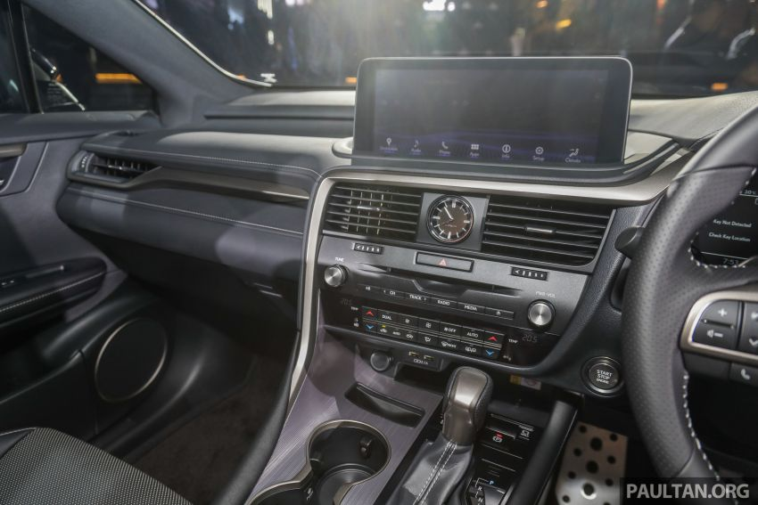 2019 Lexus RX facelift launched in Malaysia – three 2.0L turbo variants offered; priced from RM399,888 Image #1012825
