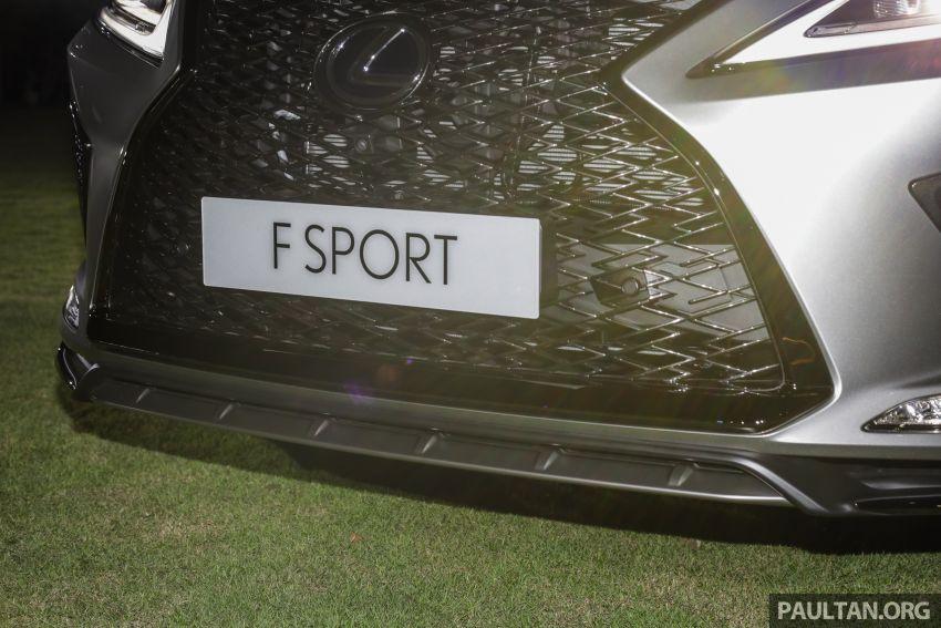 Lexus RX facelift dilancar di Malaysia – tiga varian berenjin 2.0L turbo dengan harga bermula RM400k Image #1012888