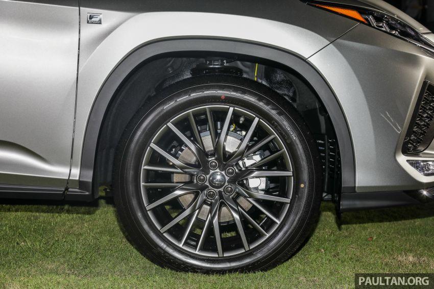 Lexus RX facelift dilancar di Malaysia – tiga varian berenjin 2.0L turbo dengan harga bermula RM400k Image #1012891