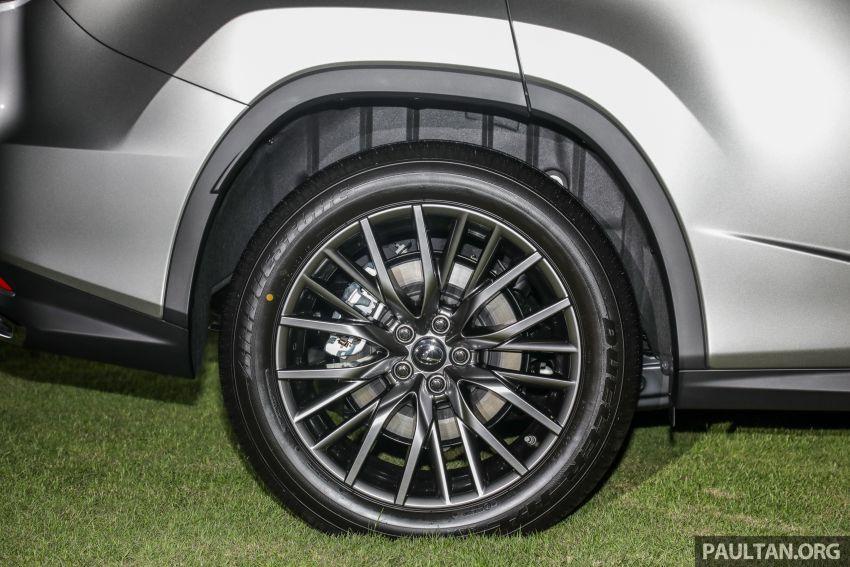 Lexus RX facelift dilancar di Malaysia – tiga varian berenjin 2.0L turbo dengan harga bermula RM400k Image #1012897