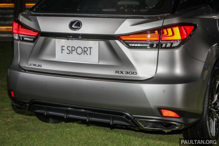 Lexus RX facelift dilancar di Malaysia – tiga varian berenjin 2.0L turbo dengan harga bermula RM400k Image #1012908