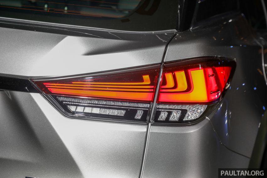 Lexus RX facelift dilancar di Malaysia – tiga varian berenjin 2.0L turbo dengan harga bermula RM400k Image #1012910