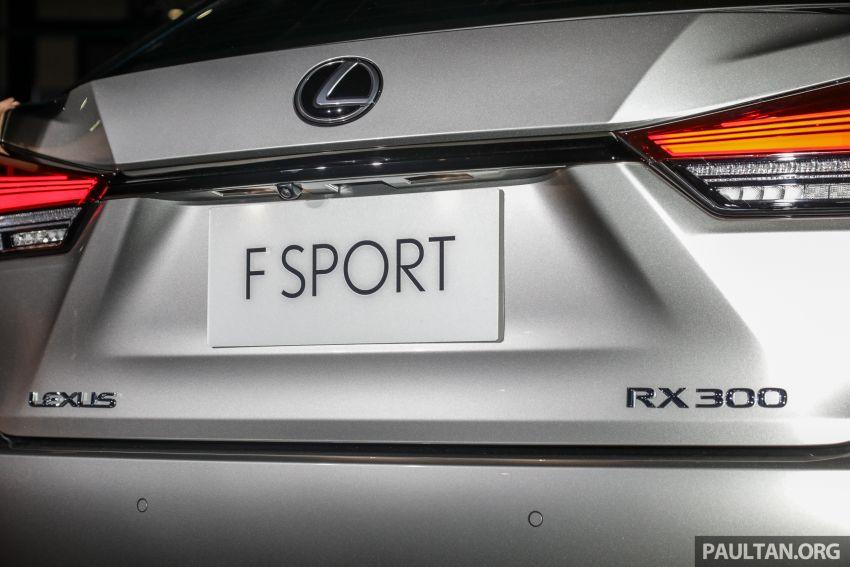 Lexus RX facelift dilancar di Malaysia – tiga varian berenjin 2.0L turbo dengan harga bermula RM400k Image #1012915