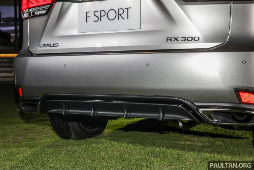 Lexus RX facelift dilancar di Malaysia – tiga varian berenjin 2.0L turbo dengan harga bermula RM400k Image #1012918