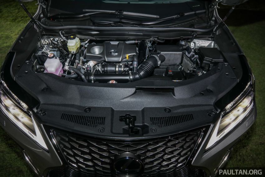 2019 Lexus RX facelift launched in Malaysia – three 2.0L turbo variants offered; priced from RM399,888 Image #1012964