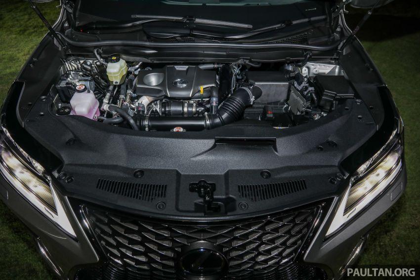 Lexus RX facelift dilancar di Malaysia – tiga varian berenjin 2.0L turbo dengan harga bermula RM400k Image #1012924