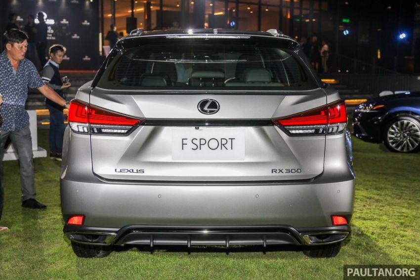 Lexus RX facelift dilancar di Malaysia – tiga varian berenjin 2.0L turbo dengan harga bermula RM400k Image #1012875