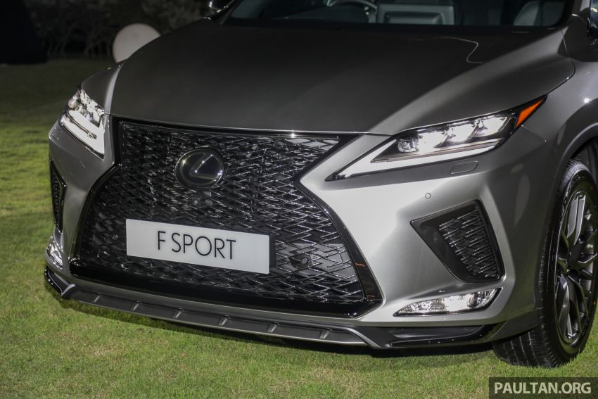 2019 Lexus RX facelift launched in Malaysia – three 2.0L turbo variants offered; priced from RM399,888 Image #1012894