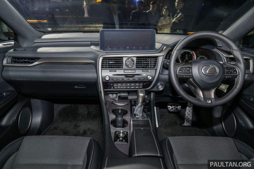 2019 Lexus RX facelift launched in Malaysia – three 2.0L turbo variants offered; priced from RM399,888 Image #1012971
