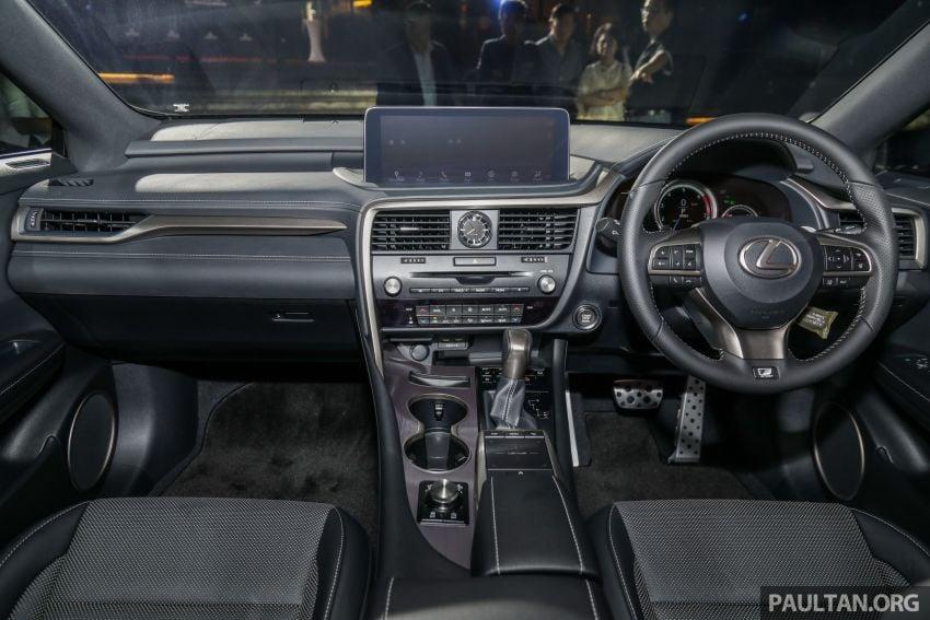 Lexus RX facelift dilancar di Malaysia – tiga varian berenjin 2.0L turbo dengan harga bermula RM400k Image #1012930
