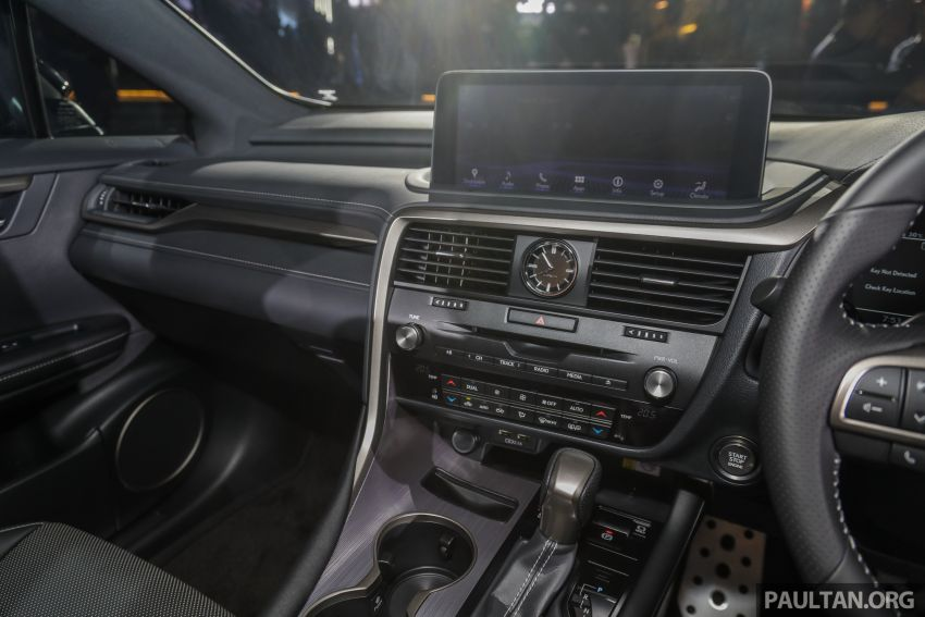 2019 Lexus RX facelift launched in Malaysia – three 2.0L turbo variants offered; priced from RM399,888 Image #1013006