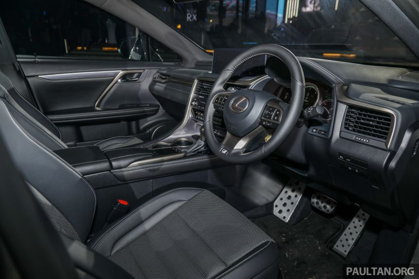 2019 Lexus RX facelift launched in Malaysia – three 2.0L turbo variants offered; priced from RM399,888 Image #1012976