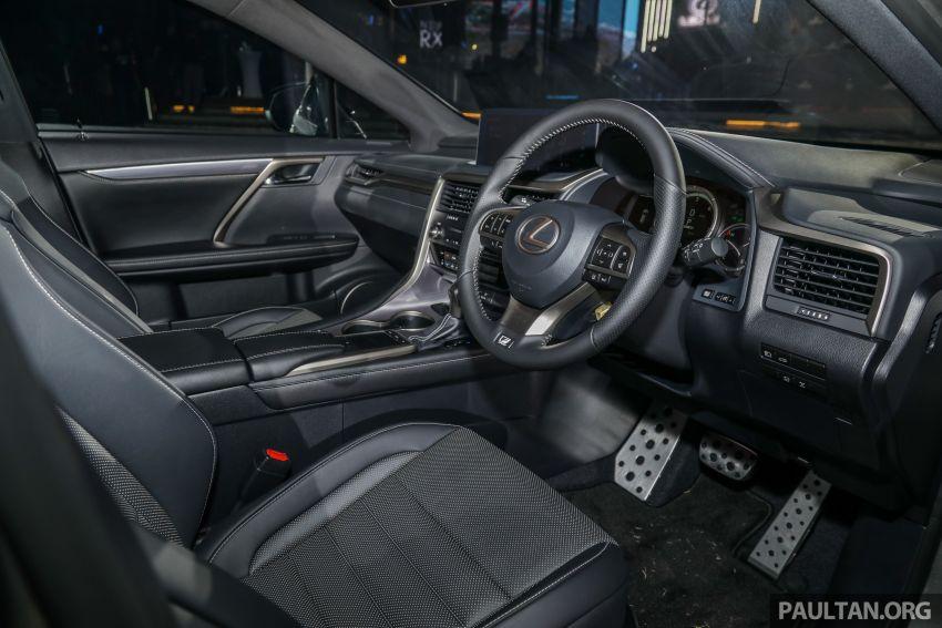 Lexus RX facelift dilancar di Malaysia – tiga varian berenjin 2.0L turbo dengan harga bermula RM400k Image #1012934
