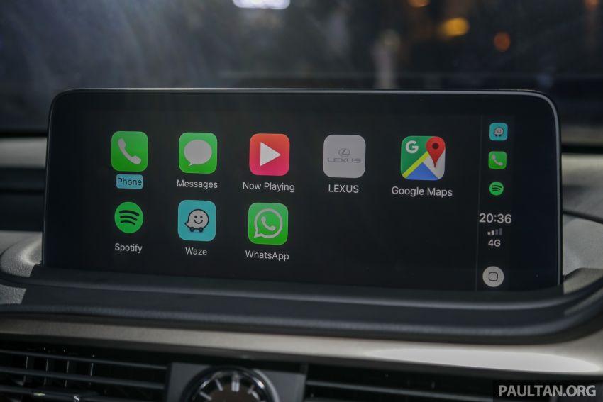 Lexus RX facelift dilancar di Malaysia – tiga varian berenjin 2.0L turbo dengan harga bermula RM400k Image #1012980