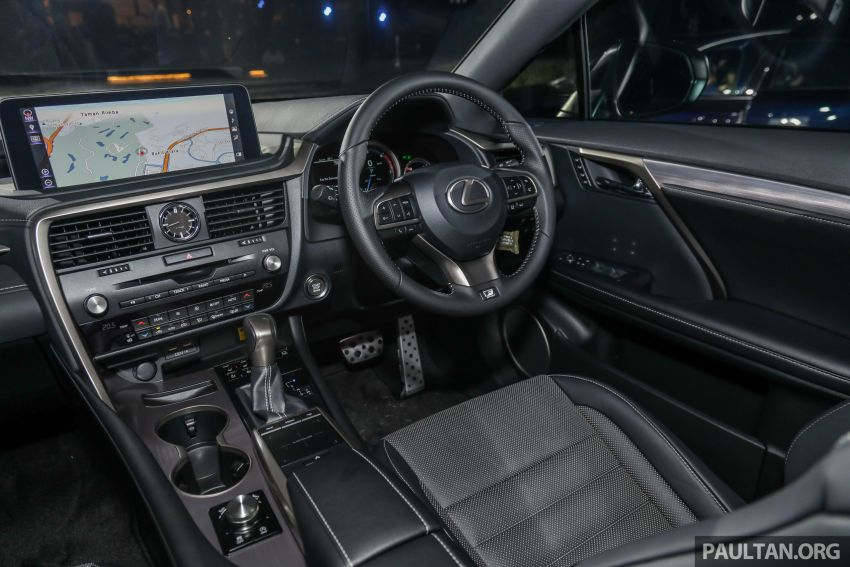 2019 Lexus RX facelift launched in Malaysia – three 2.0L turbo variants offered; priced from RM399,888 Image #1013091