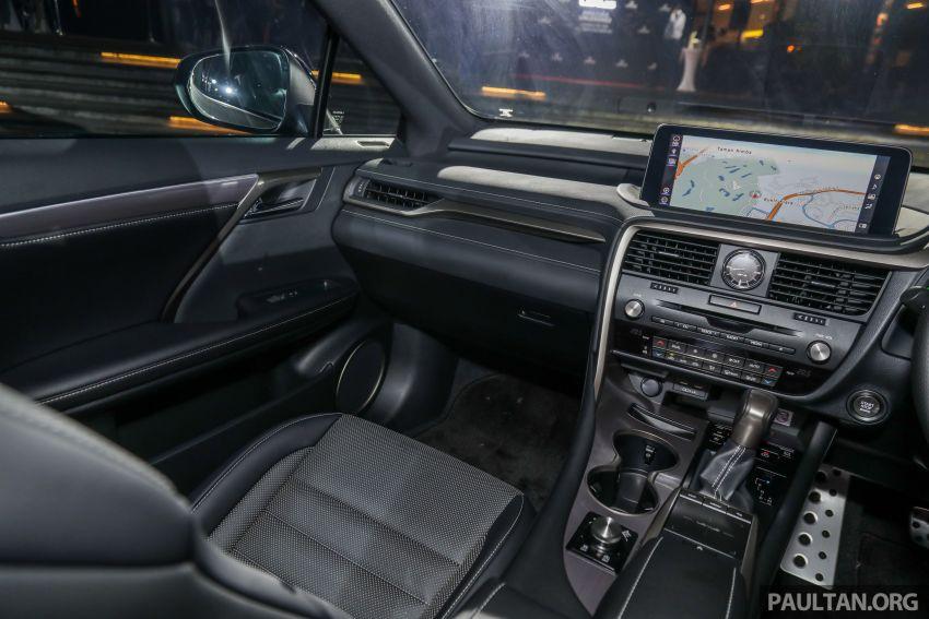 Lexus RX facelift dilancar di Malaysia – tiga varian berenjin 2.0L turbo dengan harga bermula RM400k Image #1013028