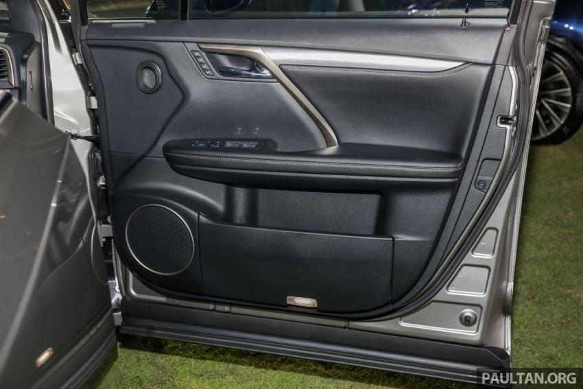Lexus RX facelift dilancar di Malaysia – tiga varian berenjin 2.0L turbo dengan harga bermula RM400k Image #1013036