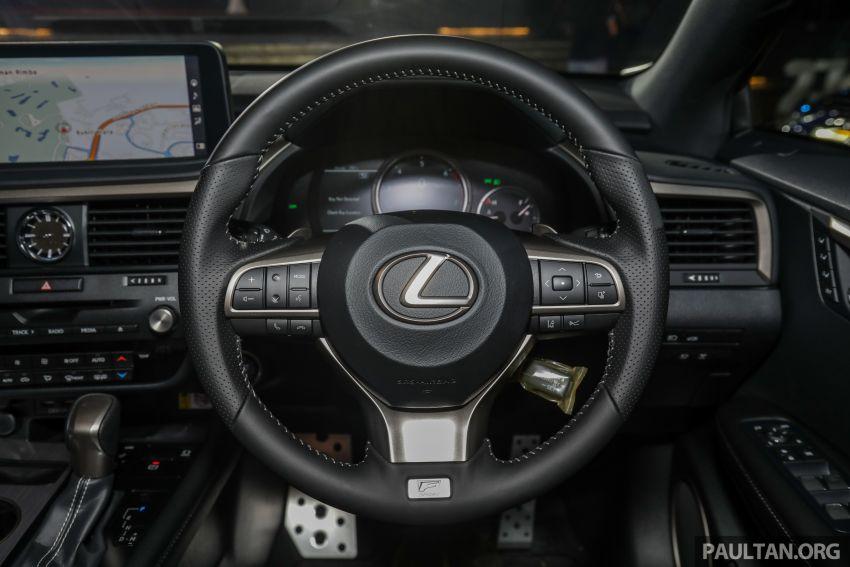 Lexus RX facelift dilancar di Malaysia – tiga varian berenjin 2.0L turbo dengan harga bermula RM400k Image #1012950