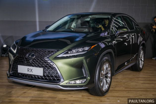 2019 Lexus Rx Facelift Launched In Malaysia Three 2 0l Turbo