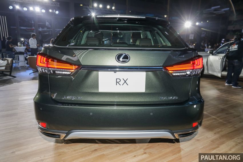 2019 Lexus RX facelift launched in Malaysia – three 2.0L turbo variants offered; priced from RM399,888 Image #1012849