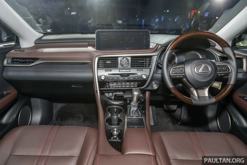 2019 Lexus RX facelift launched in Malaysia – three 2.0L turbo variants offered; priced from RM399,888 Image #1012850