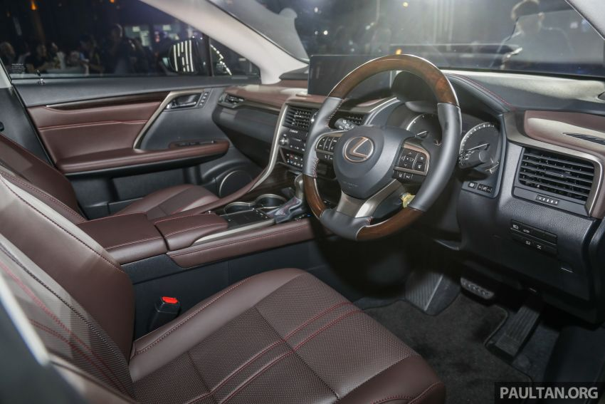 2019 Lexus RX facelift launched in Malaysia – three 2.0L turbo variants offered; priced from RM399,888 Image #1012851