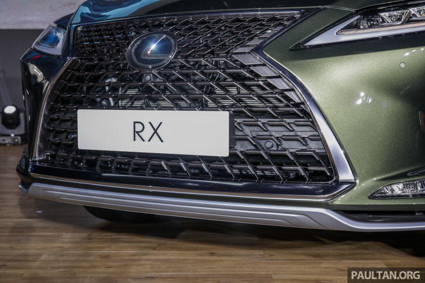 Lexus RX facelift dilancar di Malaysia – tiga varian berenjin 2.0L turbo dengan harga bermula RM400k Image #1013095