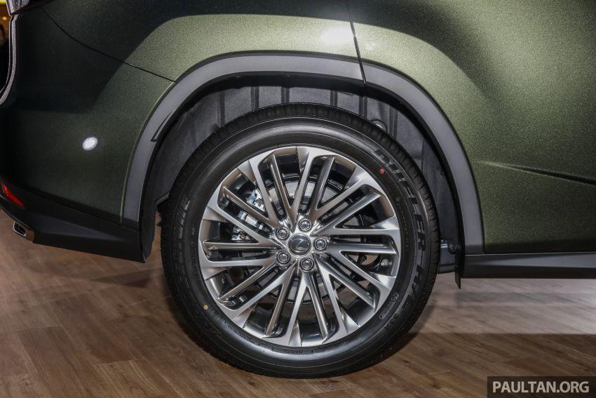 Lexus RX facelift dilancar di Malaysia – tiga varian berenjin 2.0L turbo dengan harga bermula RM400k Image #1013098
