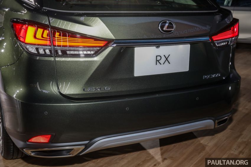 2019 Lexus RX facelift launched in Malaysia – three 2.0L turbo variants offered; priced from RM399,888 Image #1012938