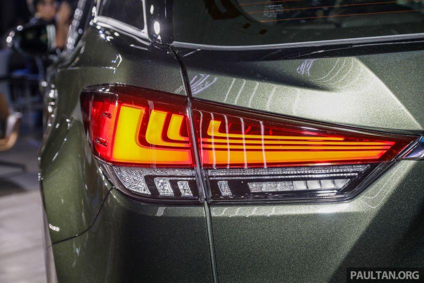 Lexus RX facelift dilancar di Malaysia – tiga varian berenjin 2.0L turbo dengan harga bermula RM400k Image #1013107