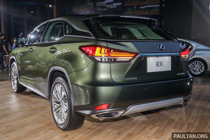 Lexus RX facelift dilancar di Malaysia – tiga varian berenjin 2.0L turbo dengan harga bermula RM400k Image #1013079
