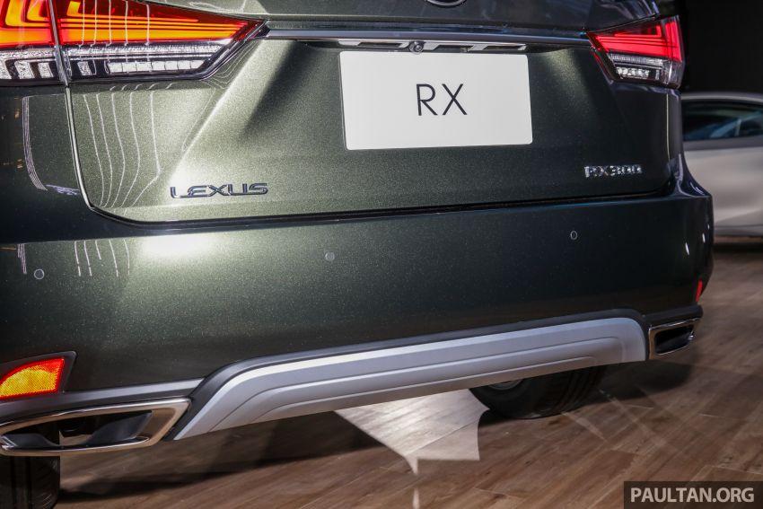 Lexus RX facelift dilancar di Malaysia – tiga varian berenjin 2.0L turbo dengan harga bermula RM400k Image #1013112