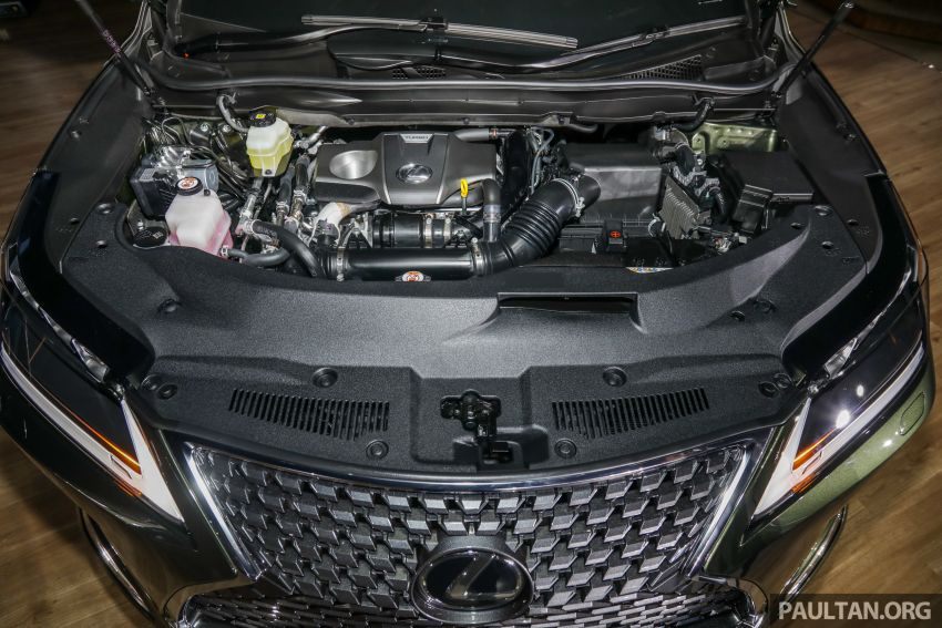 Lexus RX facelift dilancar di Malaysia – tiga varian berenjin 2.0L turbo dengan harga bermula RM400k Image #1013118