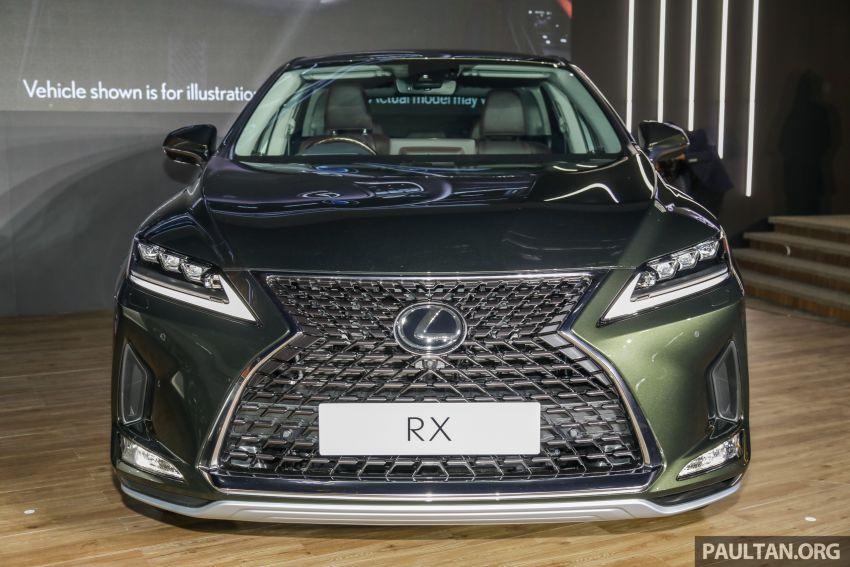 Lexus RX facelift dilancar di Malaysia – tiga varian berenjin 2.0L turbo dengan harga bermula RM400k Image #1013081