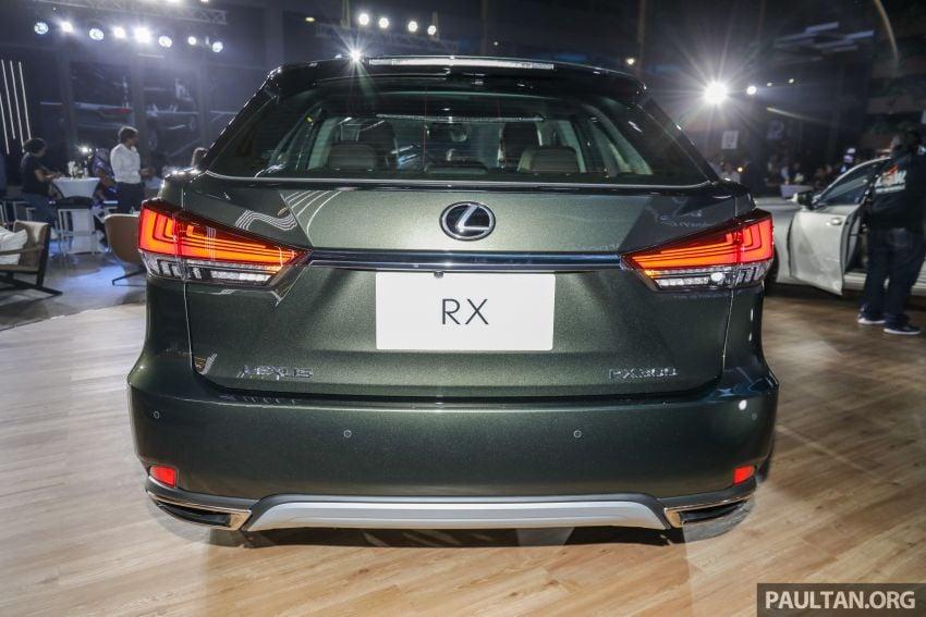 Lexus RX facelift dilancar di Malaysia – tiga varian berenjin 2.0L turbo dengan harga bermula RM400k Image #1013084