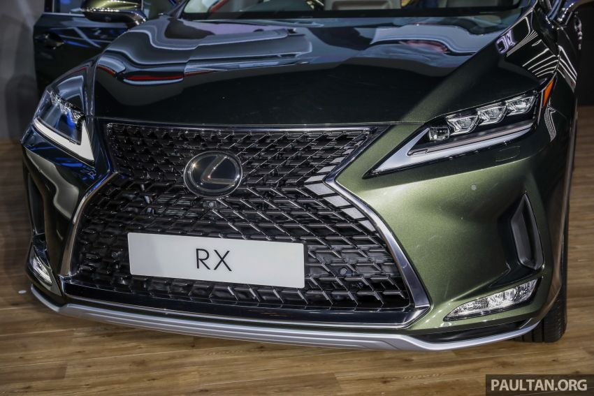 2019 Lexus RX facelift launched in Malaysia – three 2.0L turbo variants offered; priced from RM399,888 Image #1012899