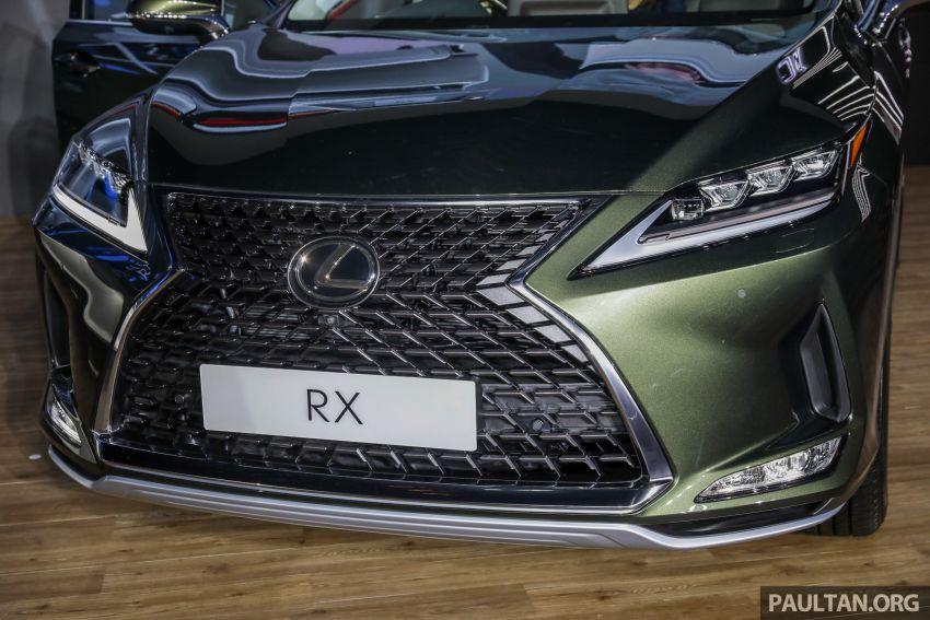 Lexus RX facelift dilancar di Malaysia – tiga varian berenjin 2.0L turbo dengan harga bermula RM400k Image #1013086