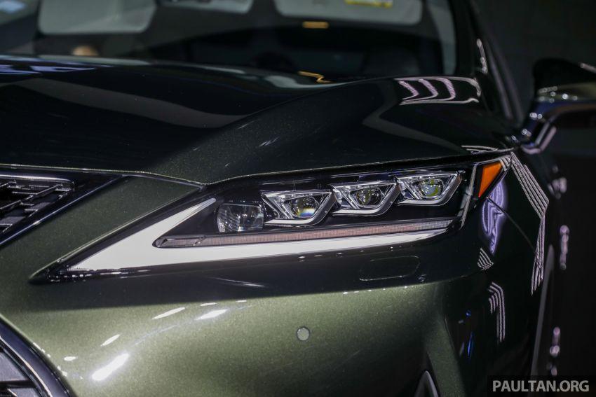 Lexus RX facelift dilancar di Malaysia – tiga varian berenjin 2.0L turbo dengan harga bermula RM400k Image #1013088