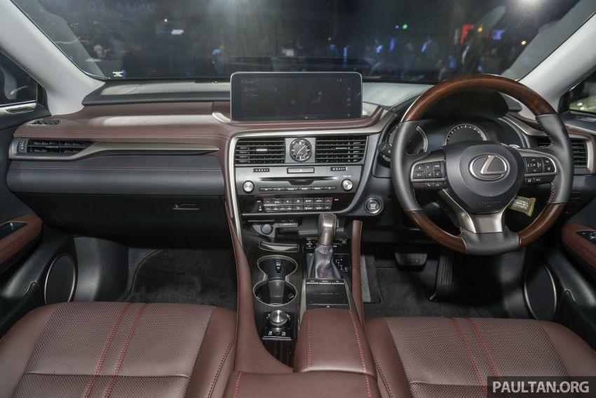 Lexus RX facelift dilancar di Malaysia – tiga varian berenjin 2.0L turbo dengan harga bermula RM400k Image #1013122