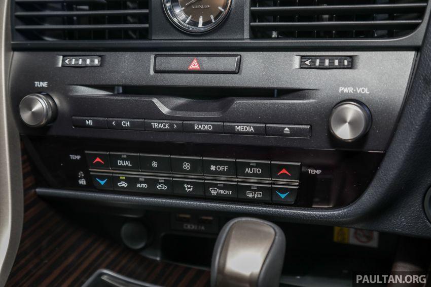 Lexus RX facelift dilancar di Malaysia – tiga varian berenjin 2.0L turbo dengan harga bermula RM400k Image #1013135